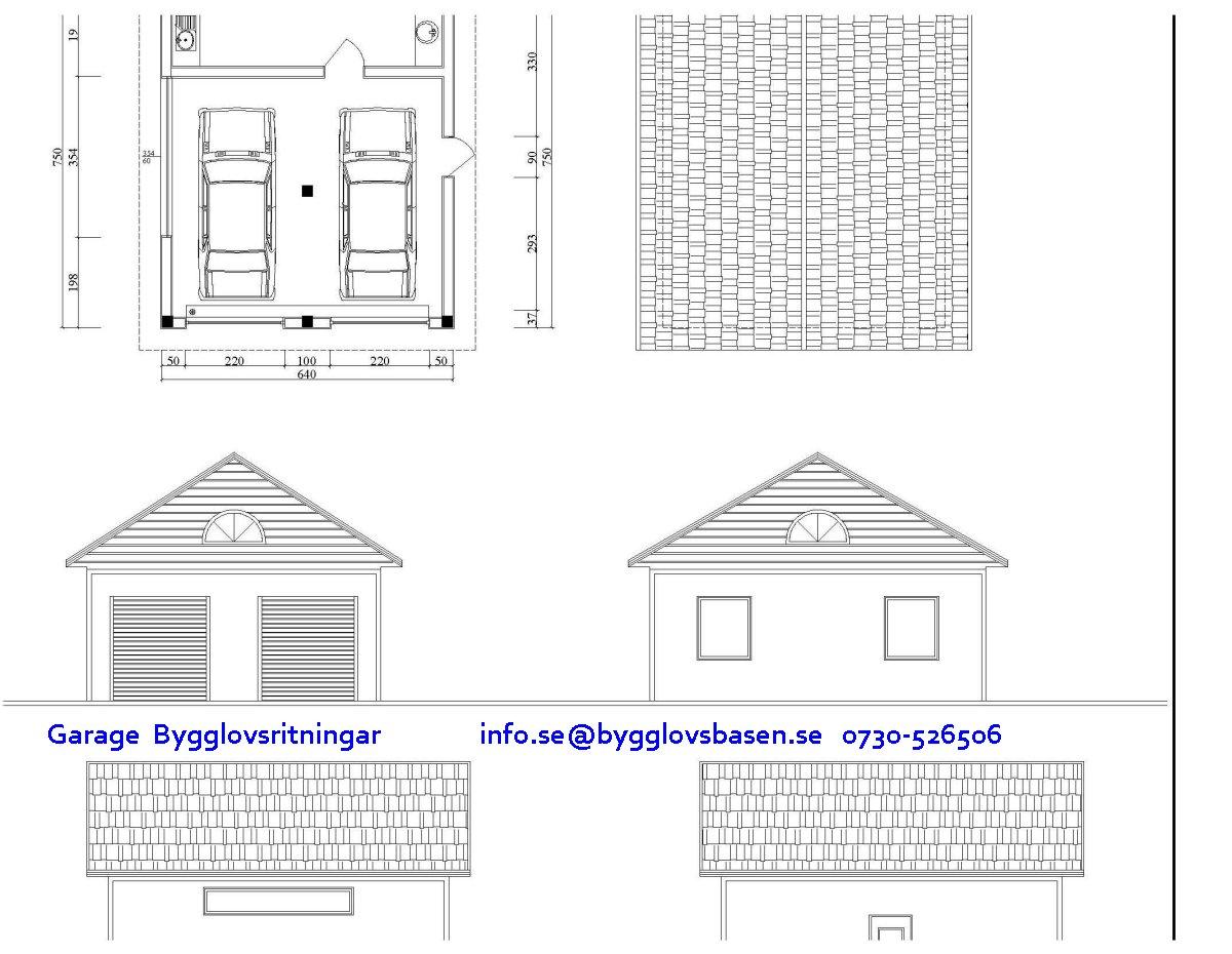 Bygglov garage